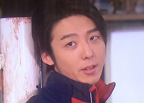 こちらの画像は、ドラマ「1ポンドの福音」で石坂雄介役として出演していた時のものです。
