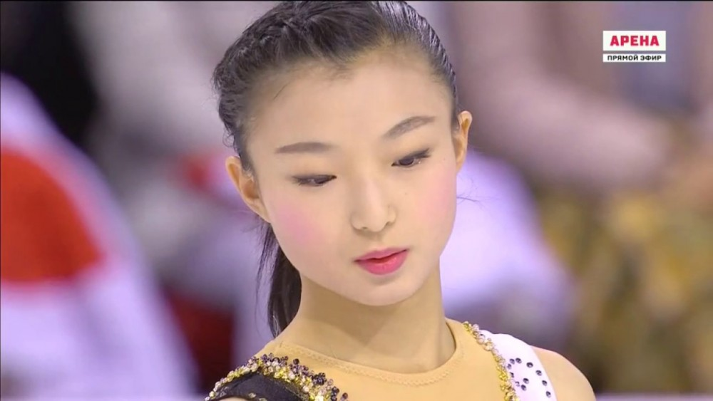 木)に行われたオリンピック最終選考会の「全日本フィギュアスケート選手権2017」でシーズンベストを叩きだし、見事ショートプログラムをトップで終えた 坂本花織
